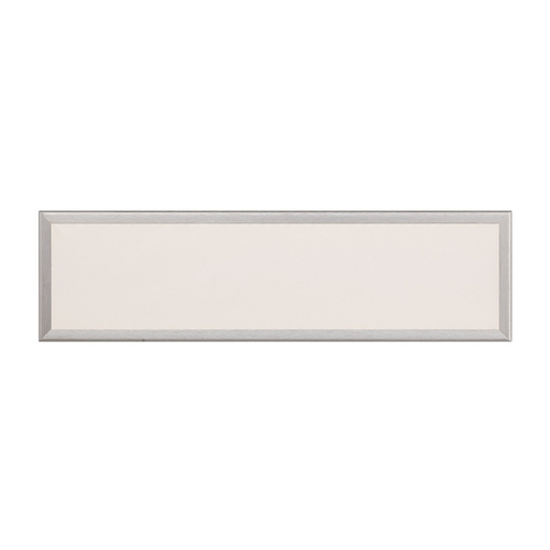 Modern Forms by WAC Lighting Neo Brushed Aluminum LED Bathroom Light - Vertical or Horizontal Mounting WS-3718-AL