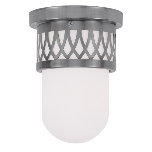 Livex Lighting Livex Lighting Westfield Brushed Nickel Flushmount Light 7350-91