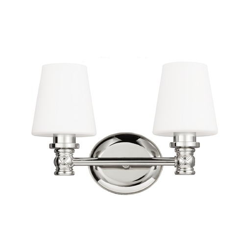 Feiss Lighting Feiss Lighting Xavierre Polished Nickel Bathroom Light VS22102PN
