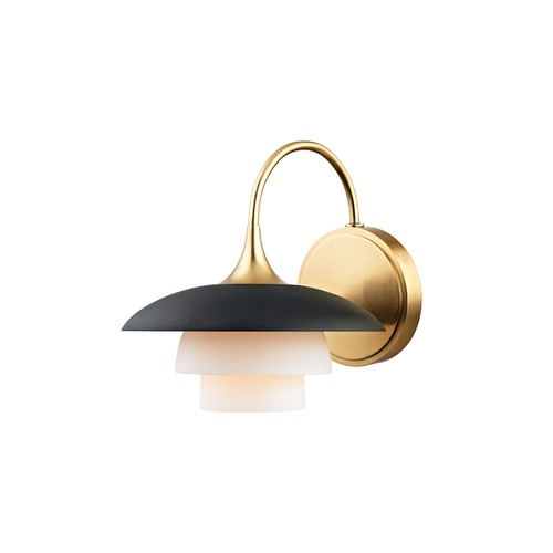Hudson Valley Lighting Hudson Valley Lighting Barron Aged Brass Sconce 1011-AGB
