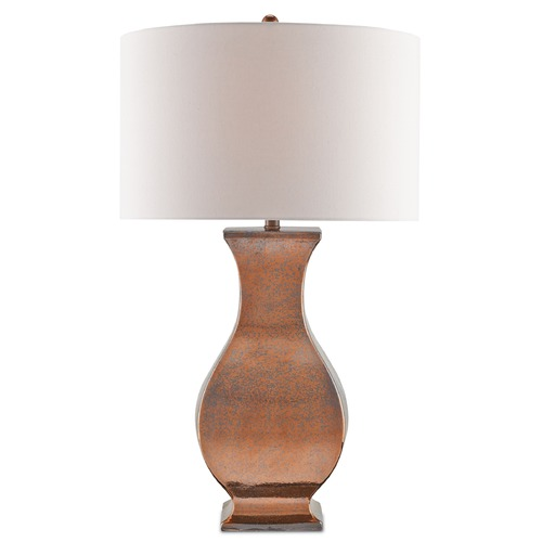 Currey and Company Lighting Currey and Company Segura Antique Gold Table Lamp with Drum Shade 6087