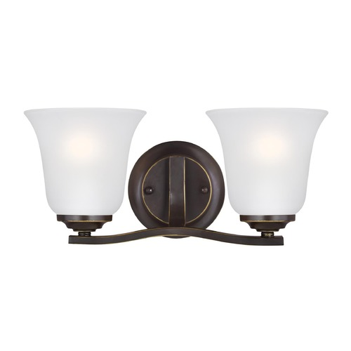 Sea Gull Lighting Sea Gull Lighting Emmons Heirloom Bronze Bathroom Light 4439002-782