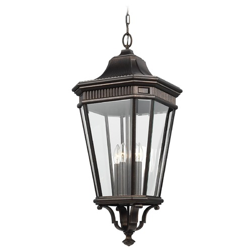 Feiss Lighting Feiss Lighting Cotswold Lane Grecian Bronze Outdoor Hanging Light OL5414GBZ