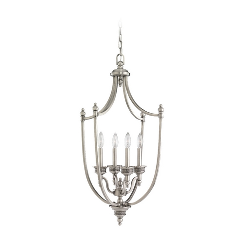 Sea Gull Lighting Pendant Light in Antique Brushed Nickel Finish 51350-965