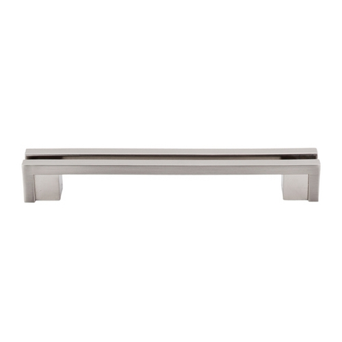 Top Knobs Hardware Modern Cabinet Pull in Brushed Satin Nickel Finish TK56BSN