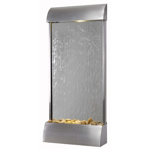 Kenroy Home Lighting Kenroy Home Lighting Waterville Stainless Steel Fountain 50053STST