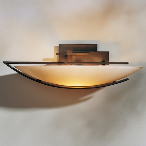 Hubbardton Forge Lighting Hubbardton Forge Lighting Ondrian Bronze Sconce 207380L-05-H90