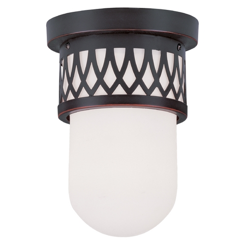 Livex Lighting Livex Lighting Westfield Olde Bronze Flushmount Light 7350-67