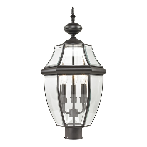 Cornerstone Lighting Cornerstone Lighting Ashford Oil Rubbed Bronze Post Light 8603EP/75