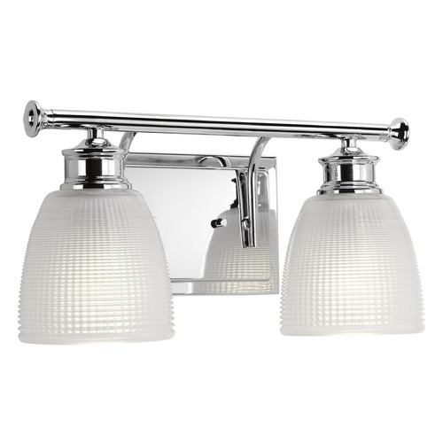 Progress Lighting Progress Lighting Lucky Polished Chrome Bathroom Light P2116-15