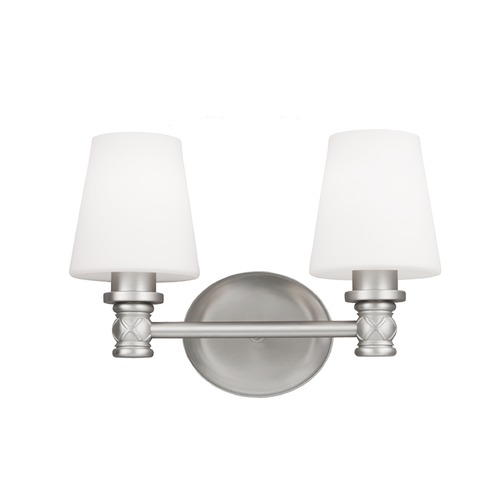 Feiss Lighting Feiss Lighting Xavierre Satin Nickel Bathroom Light VS22102SN