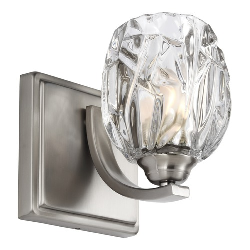 Feiss Lighting Feiss Lighting Kalli Satin Nickel Sconce VS22701SN