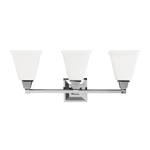 Sea Gull Lighting Sea Gull Lighting Denhelm Chrome LED Bathroom Light 4450403EN3-05