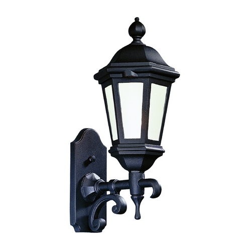 Troy Lighting Outdoor Wall Light with Clear Glass in Bronze Patina Finish BFCD6830BZP