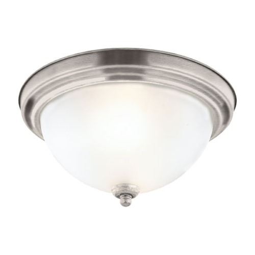 Sea Gull Lighting Sea Gull Lighting Ceiling Flush Mount Antique Brushed Nickel Flushmount Light 79163BLE-965