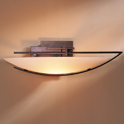 Hubbardton Forge Lighting Hubbardton Forge Lighting Ondrian Bronze Sconce 207380-SKT-RGT-05-HH0090