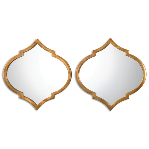 Uttermost Lighting Uttermost Jebel Antique Gold Mirrors, Set of 2 12909