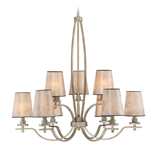 Quoizel Lighting Quoizel Lighting Belhaven Vintage Gold Chandelier BHN5009VG