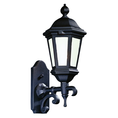 Troy Lighting Outdoor Wall Light with Clear Glass in Matte Black Finish BFCD6830MB