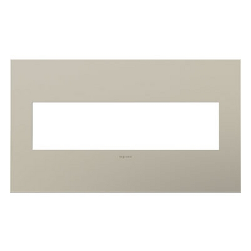 Legrand Adorne Legrand Adorne Satin Nickel 4-Gang Switch Plate AWC4GSN4