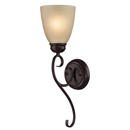 Cornerstone Lighting Cornerstone Lighting Chatham Oil Rubbed Bronze Sconce 1101WS/10