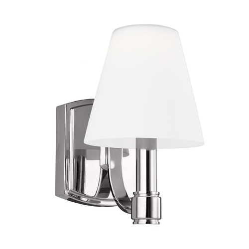 Feiss Lighting Feiss Lighting Leddington Polished Nickel LED Sconce VS22301PN