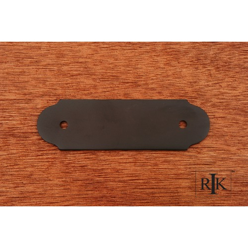 RK International Smooth Pull Backplate BP7818RB