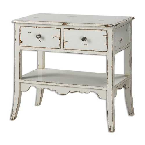Uttermost Lighting Uttermost Varali Pale Gray Accent Table 24490