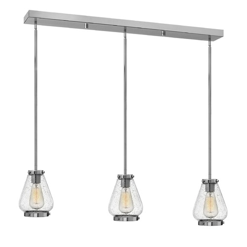 Hinkley Lighting Hinkley Lighting Finley Chrome Mini-Pendant Light with Urn Shade 3689CM