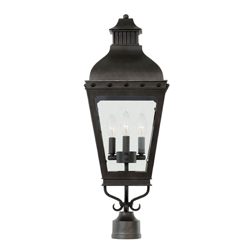 Kalco Lighting Kalco Shorecrest Aged Iron Post Light 403300AI