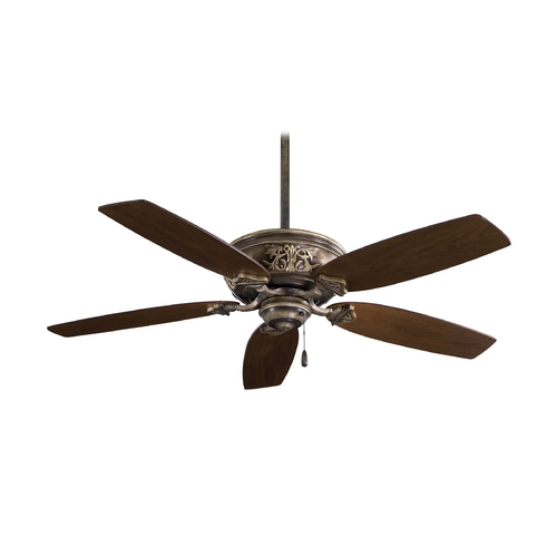 Minka Aire Ceiling Fan Without Light in Iron Finish F659-PI