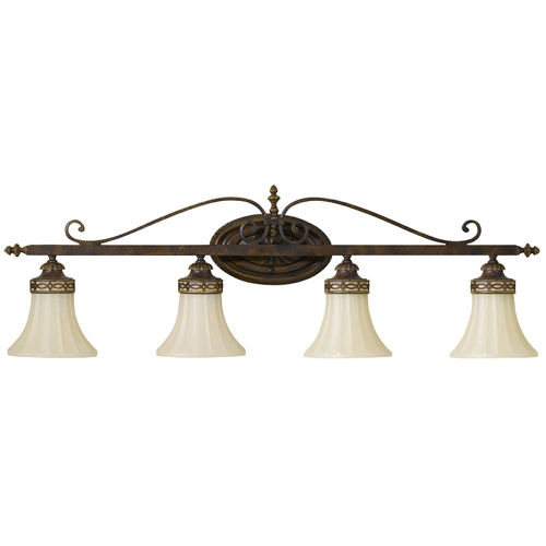 Feiss Lighting Four-Light Bathroom Light VS12504-WAL
