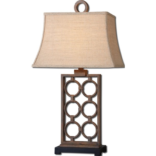 Uttermost Lighting Uttermost Dardenne Bronze Table Lamp 27453