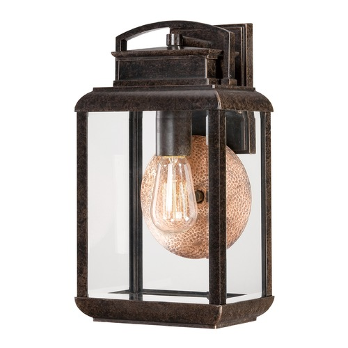 Quoizel Lighting Quoizel Byron Imperial Bronze Outdoor Wall Light BRN8408IBFL