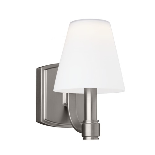 Feiss Lighting Feiss Lighting Leddington Satin Nickel LED Sconce VS22301SN