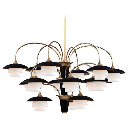 Hudson Valley Lighting Hudson Valley Lighting Barron Aged Brass Chandelier 1015-AGB