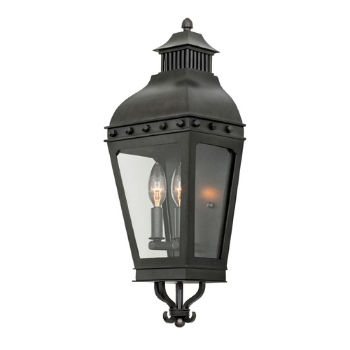 Kalco Lighting Kalco Shorecrest Aged Iron Outdoor Wall Light 403320AI
