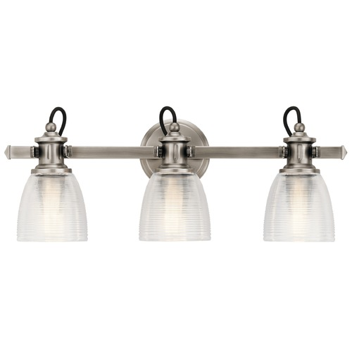 Kichler Lighting Marine / Nautical Bathroom Light Pewter Flagship by Kichler Lighting 45873CLP