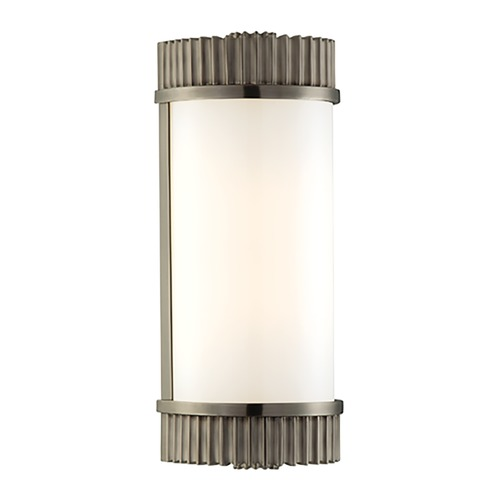 Hudson Valley Lighting Benton Antique Nickel Bathroom Light - Vertical or Horizontal Mounting 561-AN