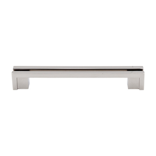 Top Knobs Hardware Modern Cabinet Pull in Polished Nickel Finish TK56PN
