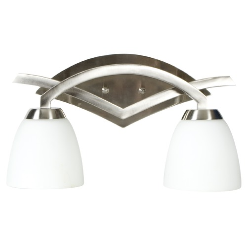 Jeremiah Lighting Jeremiah Viewpoint Brushed Satin Nickel Bathroom Light 14016BN2