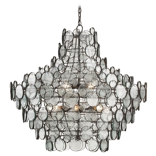Currey and Company Lighting Currey and Company Lighting Bronze Pendant Light 9520