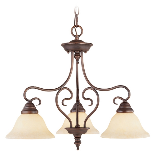 Livex Lighting Livex Lighting Coronado Imperial Bronze Chandelier 6133-58