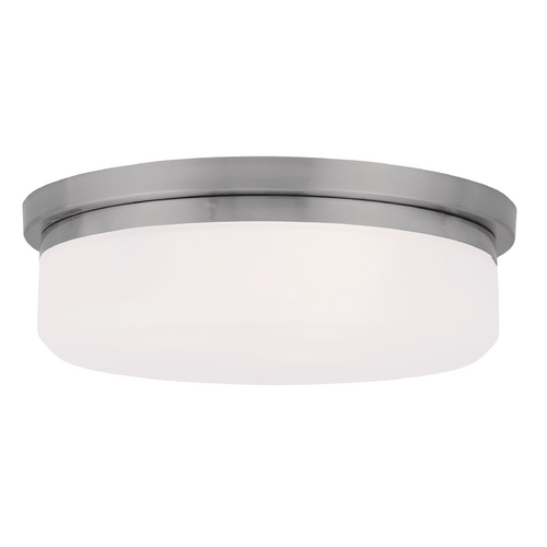 Livex Lighting Livex Lighting Isis Brushed Nickel Flushmount Light 7392-91
