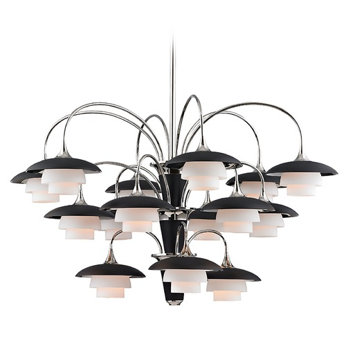 Hudson Valley Lighting Hudson Valley Lighting Barron Polished Nickel Chandelier 1015-PN