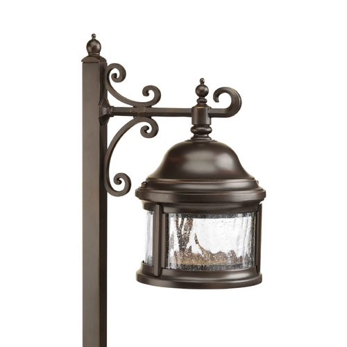Progress Lighting Path Light with Clear Glass in Antique Bronze Finish P5250-20