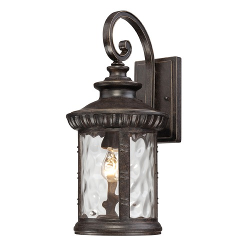 Quoizel Lighting Quoizel Chimera Imperial Bronze Outdoor Wall Light CHI8409IBFL