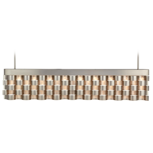 Hart Lighting Hart Lighting Waveform Polished Steel LED Island Light 1082