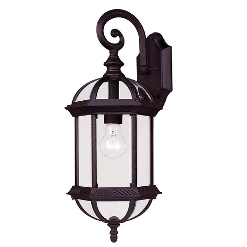 Savoy House Savoy House Textured Black Outdoor Wall Light 5-0630-BK