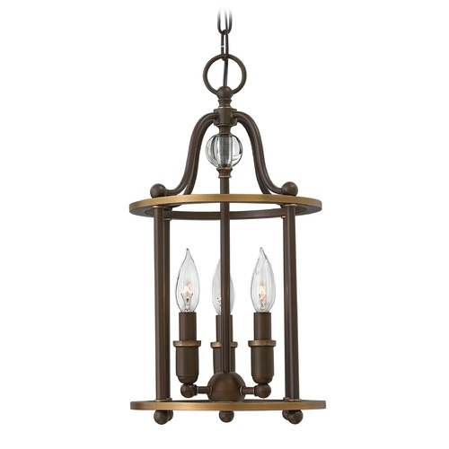 Hinkley Lighting Hinkley Lighting Elaine Light Oiled Bronze Pendant Light 4353LZ